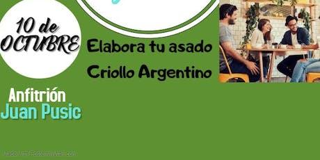 APRENDE COMO HACER UN  BUEN CORTE   DEL ASADO  CRIOLLO  ARGENTINO tickets