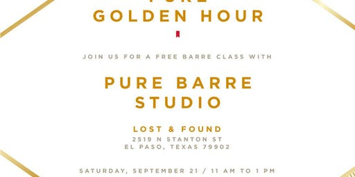 Pure Golden Hour with Pure Barre
