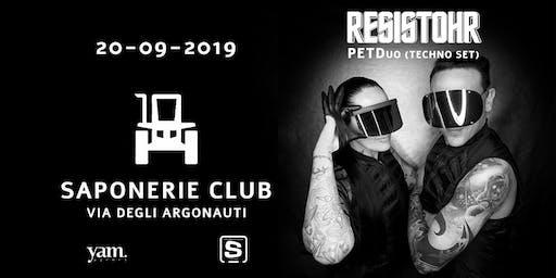 Saponerie Club Rome Pres. Resistohr (PETDuo technoset)