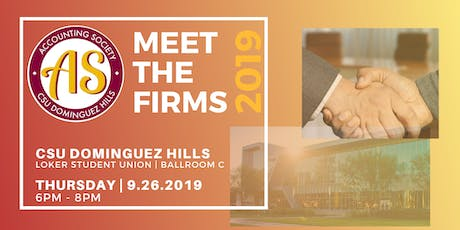 CSUDH Meet the Firms 2019 tickets