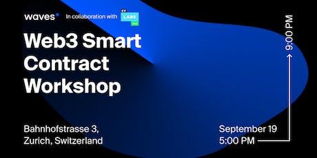 Web3 Smart Contract Workshop tickets