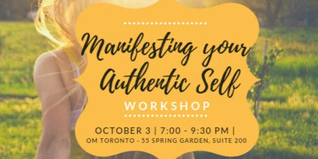 Manifesting your Authentic Self tickets