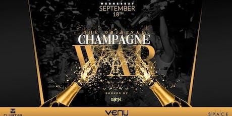 The ORIGINAL Champagne War @ VENU tickets