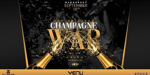 The ORIGINAL Champagne War @ VENU
