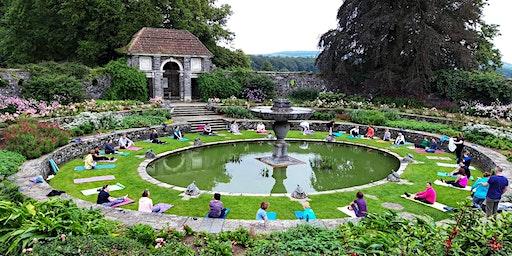 Yoga In Heywood Gardens with Simon Rogers