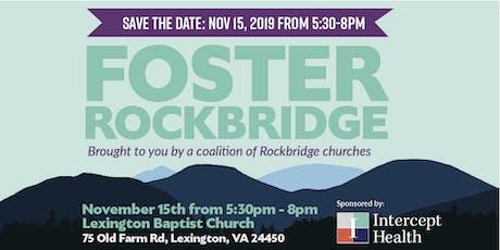 Foster Rockbridge tickets