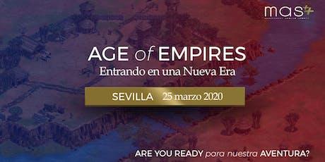 Entrando en una Nueva Era: Sevilla entradas