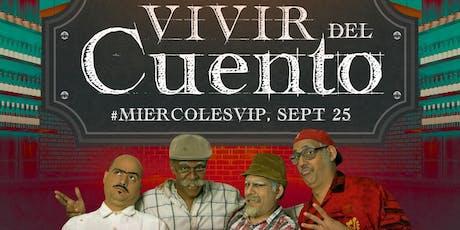PANFILO Y VIVIR DEL CUENTO tickets