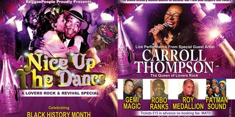 Lovers Rock & Revival Dance Celebrating Black History Month tickets