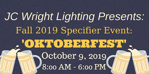 JC Wright Lighting - Fall Specifier Event