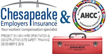 NEW HIRE ORIENTATION & CONSTRUCTION SITE SAFETY TRAINING tickets