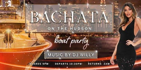 BACHATA LATIN BOAT PARTY CRUISE  NEW YORK CITY VIEWS  OF STATUE OF LIBERTY,Cocktails & Music  tickets