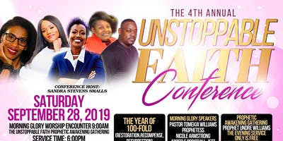 The 4th Annual Unstoppable Faith Conference 2019