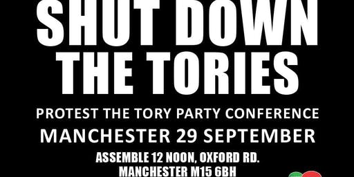 West Midlands @ Protest the Tory Party Conference 2019