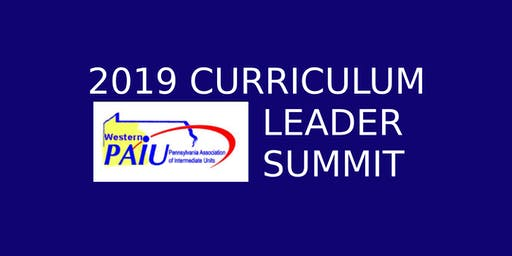 2019 Western Pennsylvania Curriculum Leader Summit