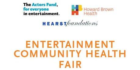 Chicago Entertainment Community Health Fair tickets
