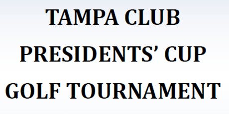 10th Annual Tampa Club Presidents' Cup Golf Tournament Benefiting Zoo Tampa tickets