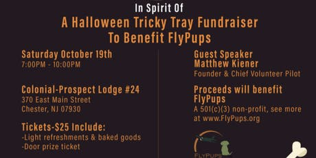 Halloween Tricky Tray for Flypups tickets