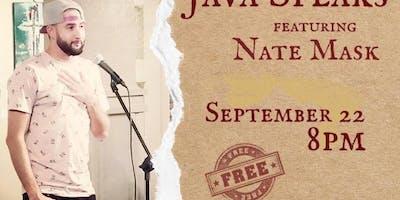 Java Speaks features Nate Mask