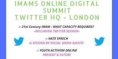 Imams Online Digital Summit at Twitter HQ London