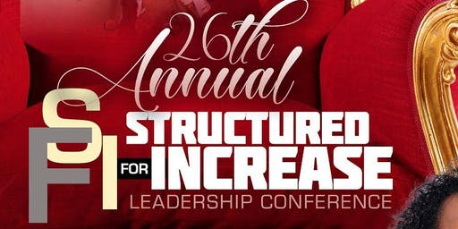 Structured For Increase Leadership Conference 2019
