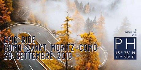 EPIC RIDE #2 - Como - Sankt Moritz - Como biglietti