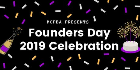 MCPBA Founders Day Celebration tickets