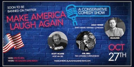 Make America Laugh Again - Dinner & Comedy Social Event tickets