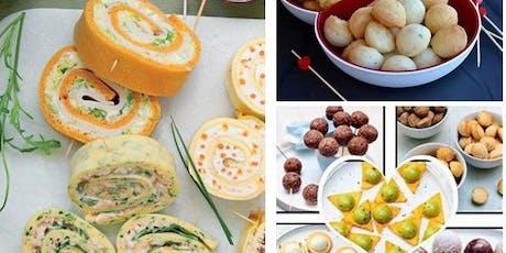 """Atelier Culinaire  """"Spécial Apéro"""" et Déjeuner entre Gastronome. tickets"""