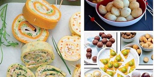 """Atelier Culinaire  """"Spécial Apéro"""" et Déjeuner entre Gastronome."""