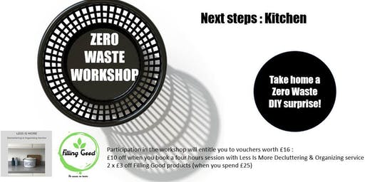 Zero waste workshop : next steps / Kitchen & cleaning
