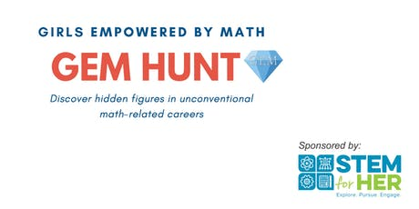 GEM Hunt: A Scavenger Hunt for High School Girls tickets