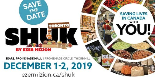 Ezer Mizion's Shuk Machane Yehuda Visits Toronto 2019