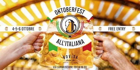 Oktoberfest all'Italiana biglietti