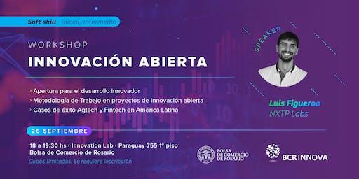 """Workshop """"Innovación Abierta"""" por Luis Figueroa de NXTP Labs"""