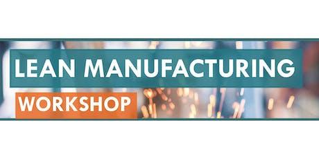 Lean Manufacturing Workshop - Las Vegas (4750E) tickets