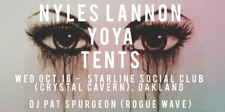 N. Lannon w/ yOya & TENTS tickets