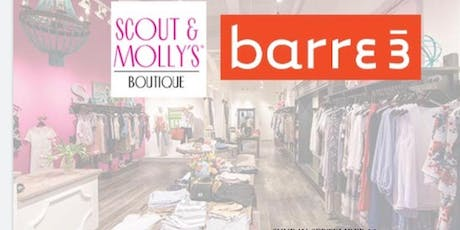 Barre3 at Scout and Molly's with Clean Juice tickets