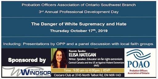 The Danger of White Supremacy and Hate - Conference