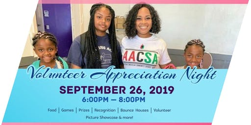 AACSA Volunteer Appreciation
