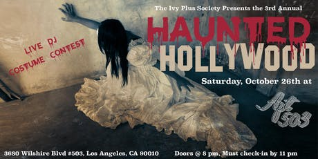 LA: The 3rd Annual Haunted Hollywood Halloween Party tickets