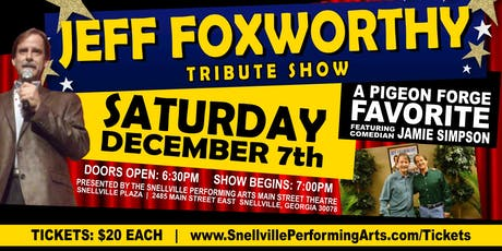 Jeff Foxworthy Tribute Comedy Show tickets