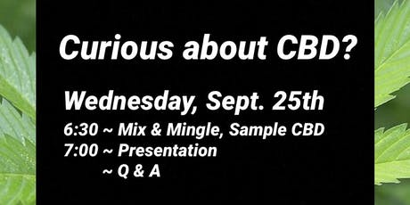 Curious About CBD? tickets