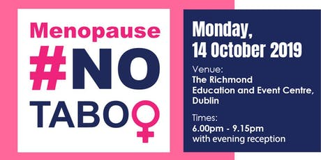 Menopause #NoTaboo tickets