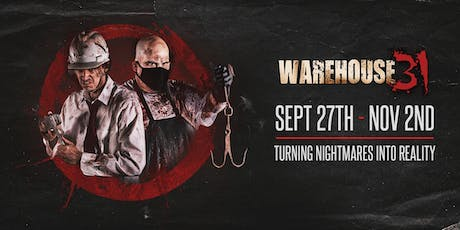 Haunted House - Warehouse31 - 10/6/19 tickets