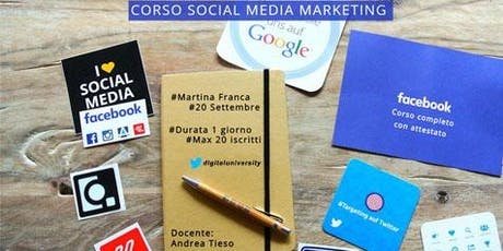 Corso Social Media Marketing tickets