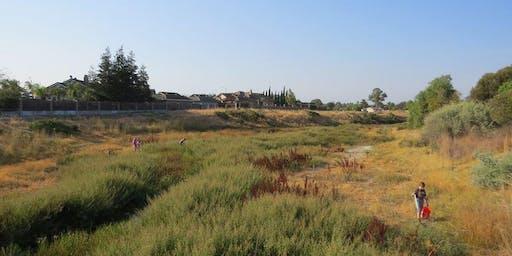 Creek Clean-up: Arroyo Mocho at the Granada Native Gardens