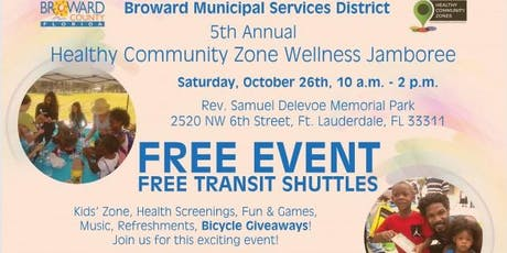 BSMD 5th Annual Healthy Community Zone Wellness Jamboree tickets