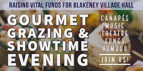 Gourmet Grazing & Showtime Evening tickets