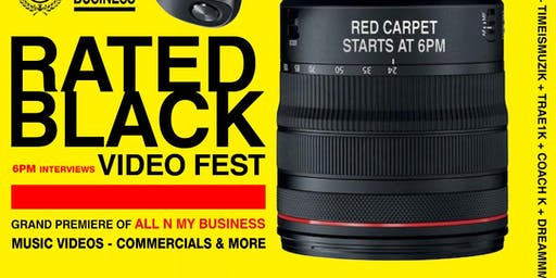 RATED BLACK VIDEO FEST